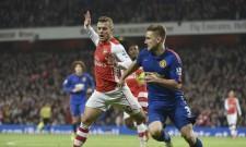 Jack Wilshere Arsenal Luke Shaw Manchester United