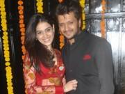 Genelia with Riteish Deshmukh