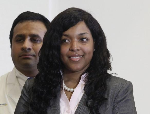 Amber Vinson, nurse who had Ebola.