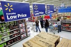 Low prices at Walmart in time for Black Friday 2014.