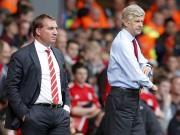 Brendan Rodgers, Arsene Wenger.