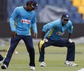 Angelo Mathews Kumar Sangakkara Sri Lanka
