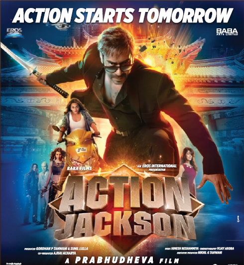 action jackson full movie
