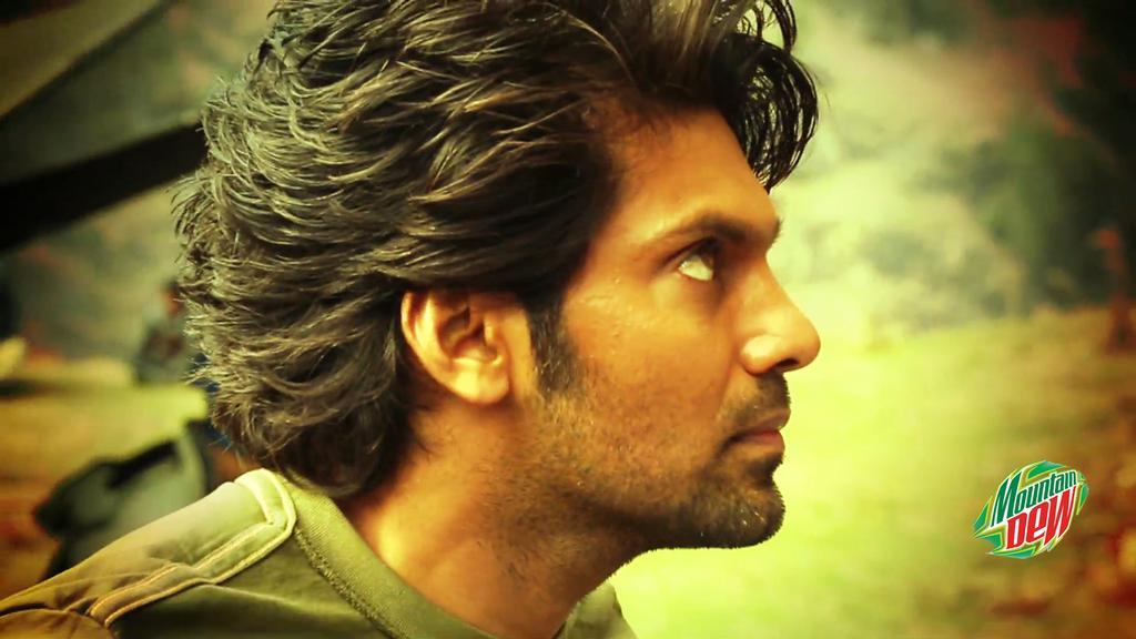Arya: Akhil Akkineni Shoots With Arya For Mountain Dew Ad Film