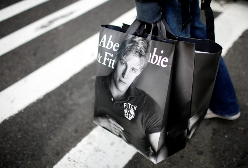 abercrombie and fitch demand