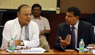 Finance Minister and RBI Governor Raghuram Rajan