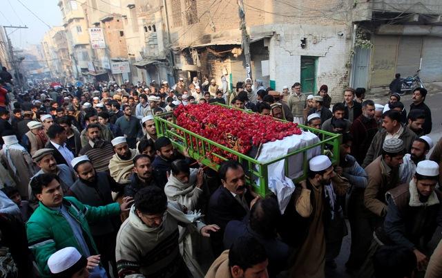 Terror Deaths in Pakistan on Death Penalty in Terror
