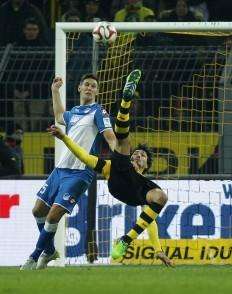 Hoffenheim Niklas Suele Mats Hummels Borussia Dortmund