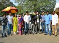 Akhil Akkineni Teams up with Vinayak, Nithiin: Amala, Nagarjuna Launch his Debut Film [PHOTOS]