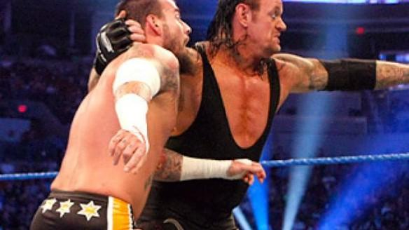 The Undertaker Versus CM Punk