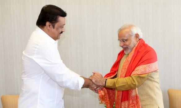 Suresh Gopi meeting Narendra Modi
