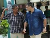 Gautham Menon with Ajith