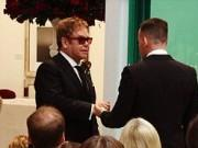 Elton John, Partner David Furnish Marry