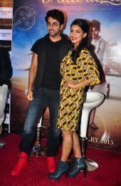 Ayushmann Khurrana, Pallavi Sharda at trailer launch of 'Hawaizaada'