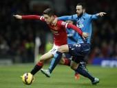 Ander Herrera Manchester United Marc Wilson Stoke City