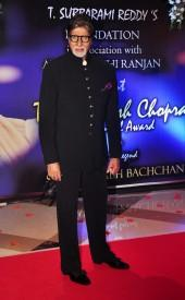 Megastar Amitabh Bachchan Honoured with Yash Chopra Memorial Award 2014