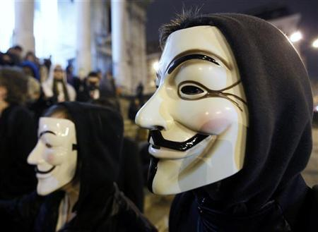 net neutrality: anonymous india attacks trai website