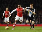 Alex Oxlade-Chamberlain Arsenal Jack Colback Newcastle United