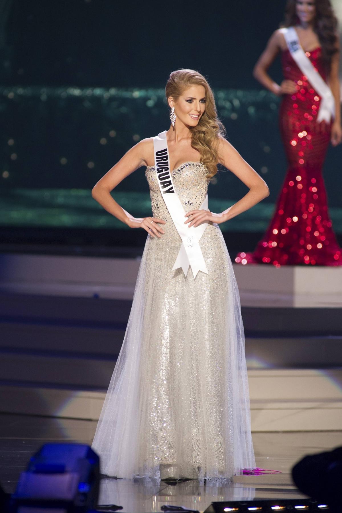 2015 Miss Ukraine Universe Evening Gown