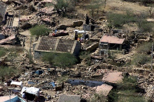 gujarat earthquake Browse image of orbit 5969 (380 kb jpeg) on january 26, 2001, when india's republic day is normally celebrated, a devastating earthquake hit the state of gujarat about 20,000 people died and millions were injured throughout the region.