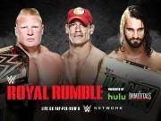 Brock Lesnar vs. John Cena vs. Seth Rollins