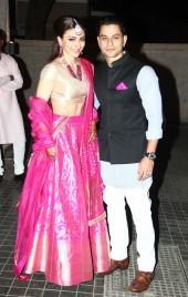 Soha Ali Khan and Kunal Khemu Wedding Reception