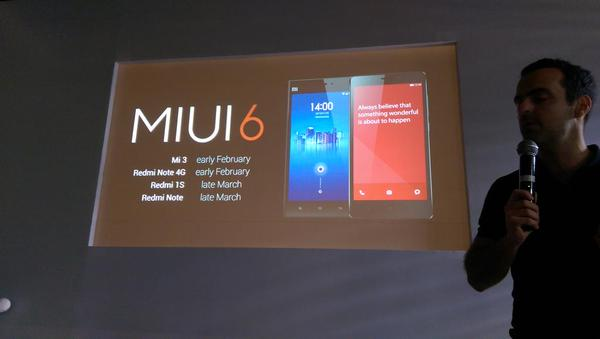 Xiaomi MIUI 6 Update For Mi3, Redmi Note, Redmi 1S in ...