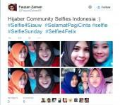 A fatwa by an Muslim cleric in Indonesia has triggered a selfie rebellion in Indonesia.