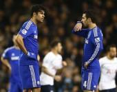 Diego Costa Cesc Fabregas Chelsea