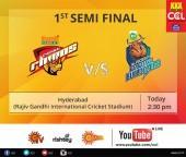 Chennai Rhinos vs. Karnataka Bulldozers