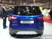 2015 Geneva Motor Show: Ford Ecosport Facelift Takes Stage without Tailgate Spare Wheel