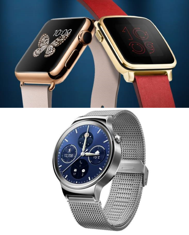 Apple Watch Vs Huawei Watch Vs Pebble Time: Which ...