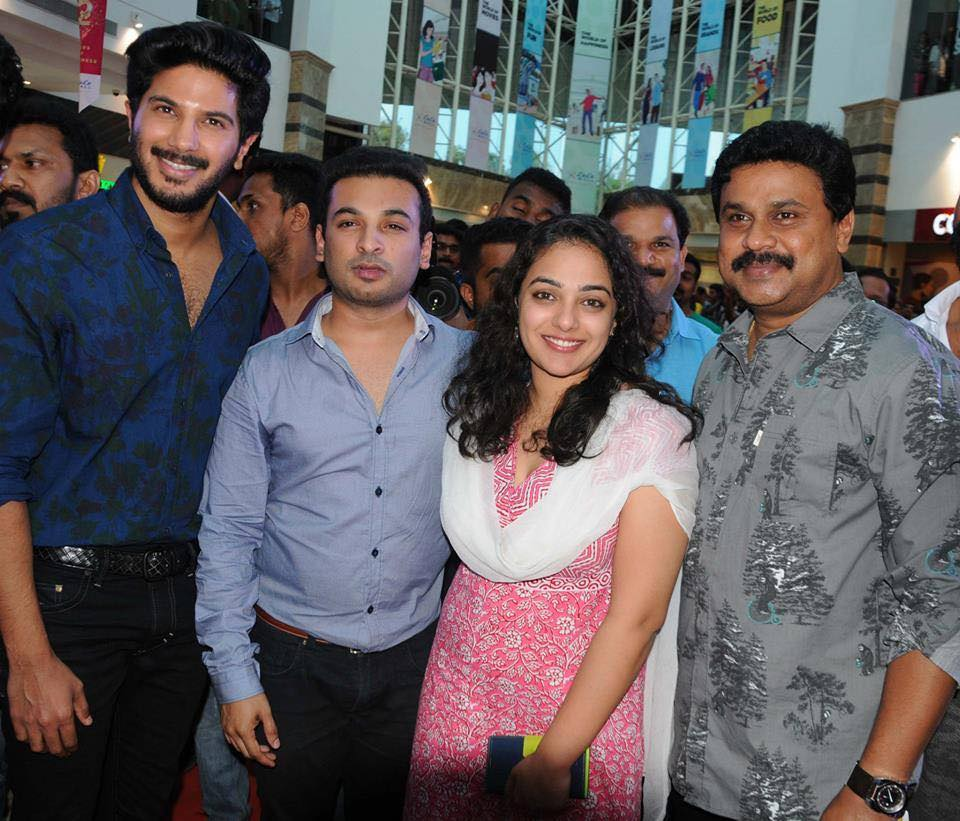 Joshiy: '100 Days Of Love' Audio Launch: Dileep, Dulquer Salmaan