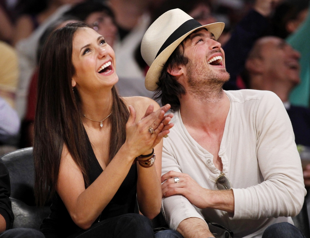 are ian and nina dating in real life