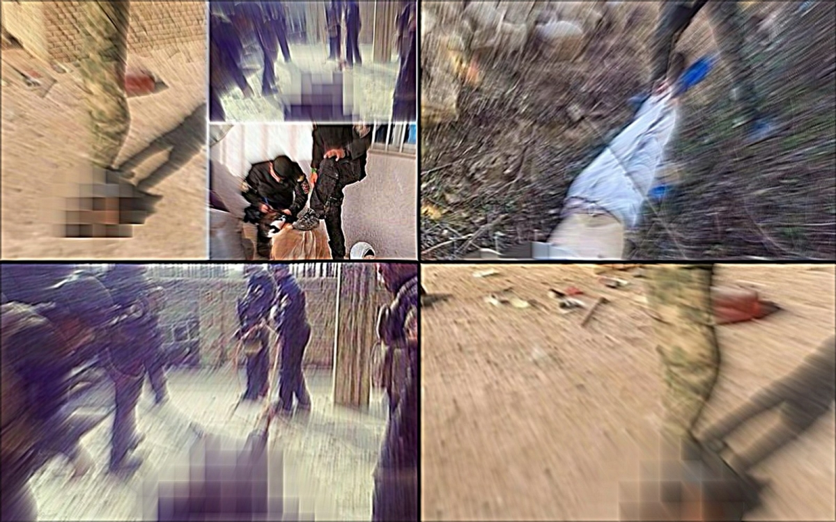 Soldiers torture behead isis fighter in alleged revenge killing video