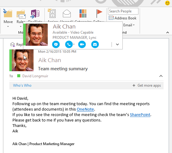 Microsoft S Tour On Office 2016 And Skype For Business