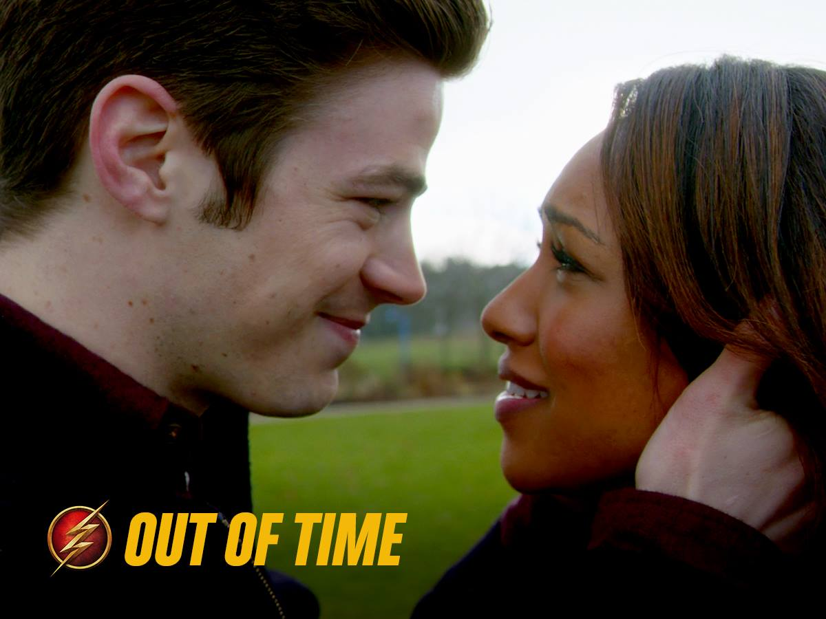 Flash Barry Kiss Iris And Barry in 'the Flash'