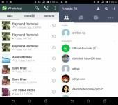 Whatsapp and Line Interface