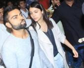 Virat Kohli and Anuskha Sharma spotted in Mumbai