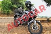 Bajaj Pulsar 150 AS Spied Testing