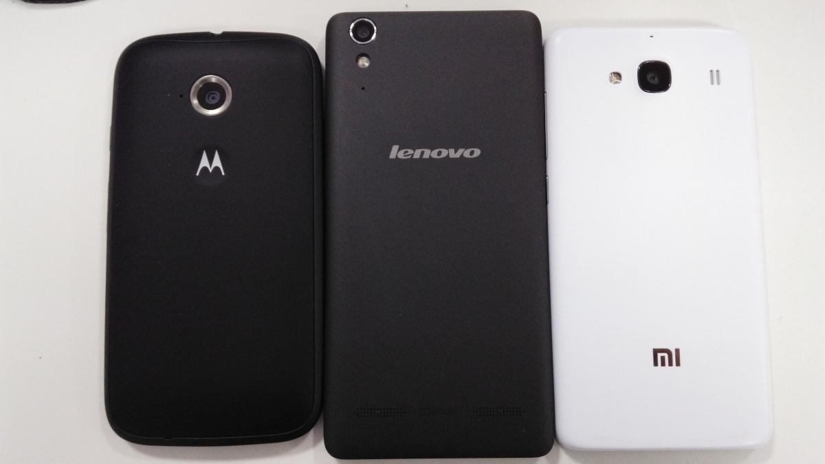 Moto E (2nd Generation) Vs Xiaomi Redmi 2 Vs Lenovo A6000 Head To Head