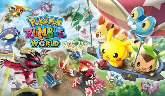 Pokemon Rumble World Legendaries Pokemon Rumble World List of