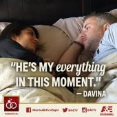 Davina and Sean in 'Married at First Sight'