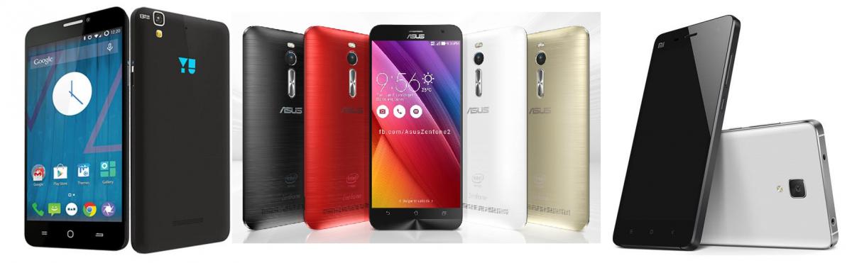 Xiaomi Mi 4i vs Asus ZenFone 2 vs Yu Yureka: Which is the ...