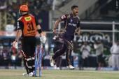 Umesh Yadav KKR David Warner SRH