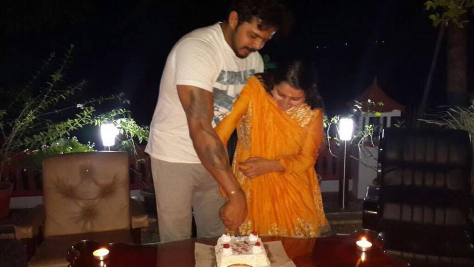 Sreesanth Twitter: Sreesanth-Bhuvneshwari Kumari Blessed With Baby Girl [PHOTOS]