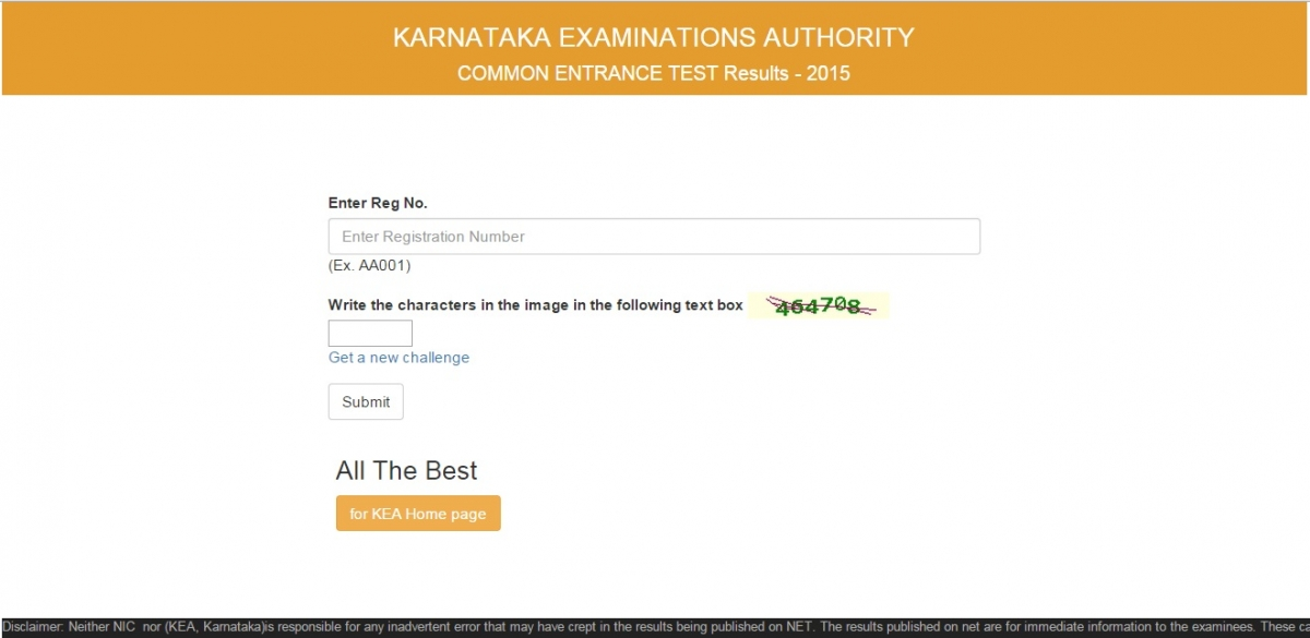 Karnataka CET Results 2015 Declared: Where to Check KCET Results ...