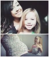 girl dancing with pregnant mom video goes viral