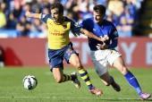 Mathieu Flamini Arsenal David Nugent Leicester City