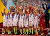 USA Women's World Cup Final Trophy